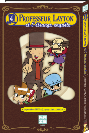 Professeur layton et l etrange enquete manga volume 4 simple 74232